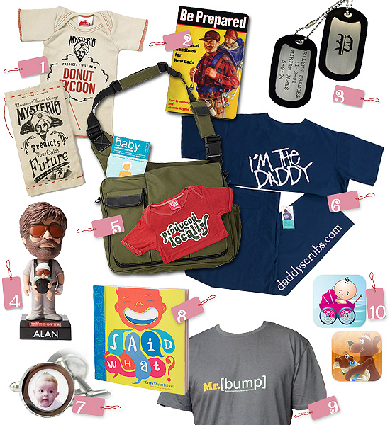Top 10 Picks: New Dad Gifts