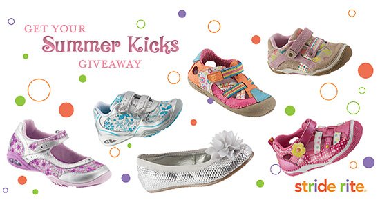 summerkicks striderite Giveaway: Get Your Summer Kicks courtesy of stride rite