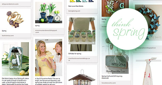 thinkspring blog Lists We Love: The Gifting Experts Spring Gifts on Pinterest