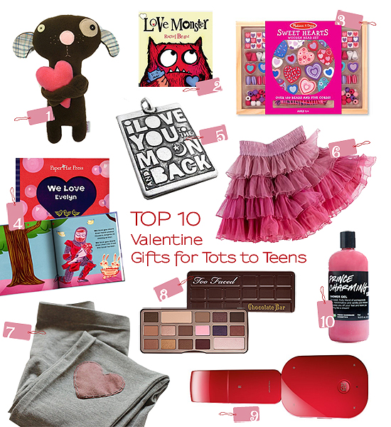 Top 10 Thursdays Valentine Gifts For Tots To Teens