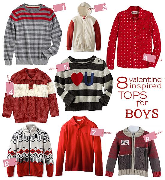 fashion fridays 8 valentine inspired tops for boys