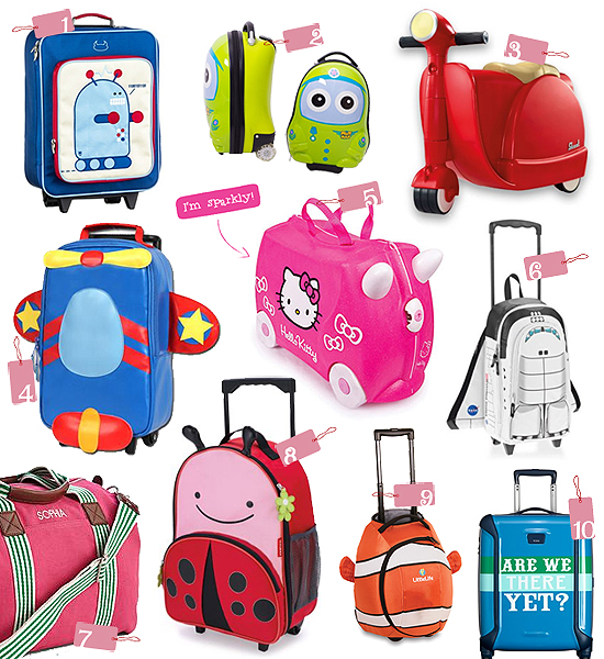 Top 10 Picks: Kid-Friendly Travel Luggage – PTPA