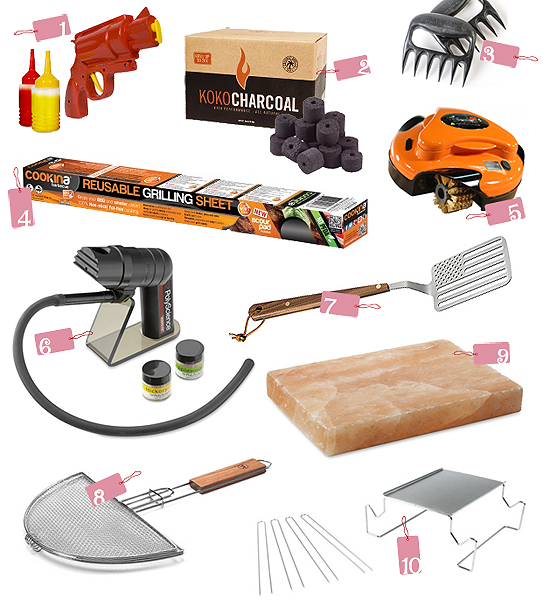 top 10 summer barbeque gifts gadgets Top 10 Thursdays: Summer BBQ Essentials