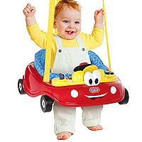Little Tikes Cozy Coupe Doorway Jumper Tiny Tots Tuesdays: Little Tikes Cozy Coupe Doorway Jumper