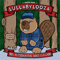 lullabylooza alternative rock lullaby Tiny Tots Tuesdays: Educate Your Newborn in Popular Music with Jammy Jams LullabyLooza!