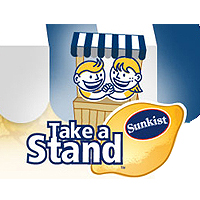 sunkist takeastand Mindful Mondays: Teach Your Kids the Value of Charity with a Sunkist Lemonade Stand