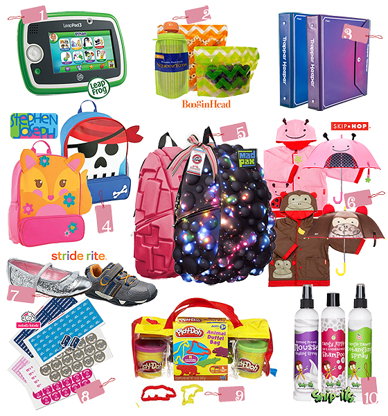 top10 backtoschool gifts 2014 BLOG Top 10 Thursdays: Back to School Must Haves