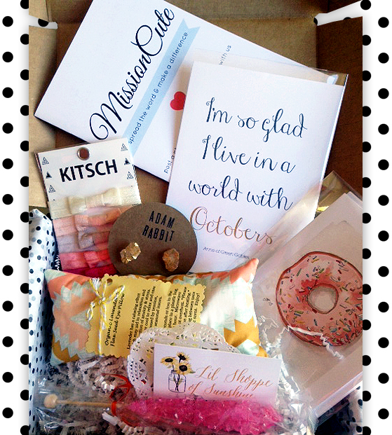 mission cute review gift box subscription women teens tweens Wish List Wednesdays: Make the World a Better Place with MissionCute!
