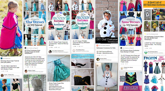 pinterest DIY Frozen Halloween costumes DIY Frozen Costume Ideas on Pinterest...