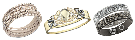 swarovski crystal bangles fall fashion Wish List Wednesdays: Add Sophisticated Bling to Your Fall Wardrobe with Swarovski Bangles