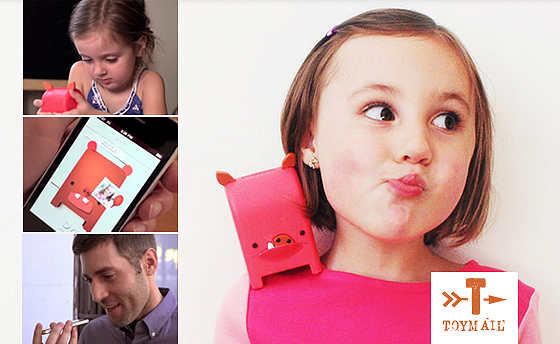 toy mail app wireless global walkie talkie Tiny Tots Tuesdays: Stay In Touch No Matter Where You Are With Toymail