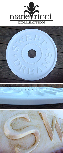 sweet dreams diy ceiling medallion marie ricci review Accessorize Your Home with Marie Ricci DIY Sweet Dreams Ceiling Medallion