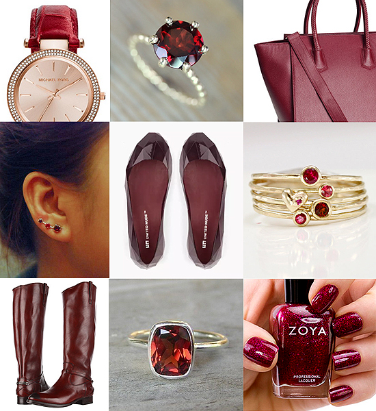 january_accessories_garnet_michael_kors_HM_ring_frye_boots