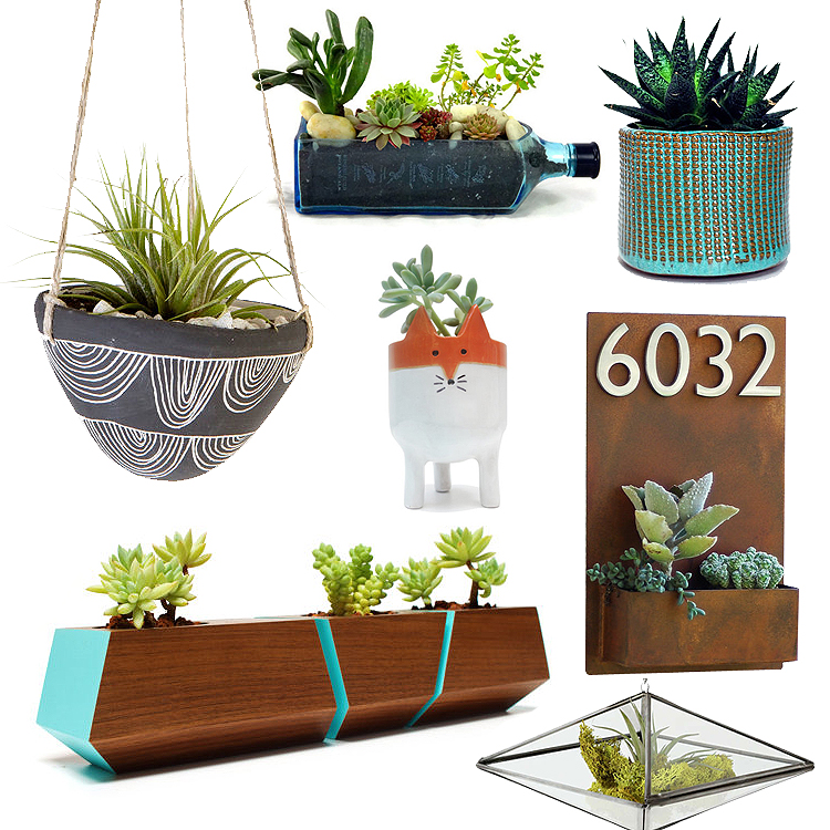 best_modern_succulent_planter