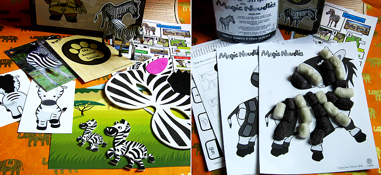 animal_trackers_club_zebra_month_kid_craft_animal_education