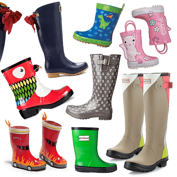 spring_rain_boots_wellies_kids_girls_boys_women_bow_cat_dino_anchor
