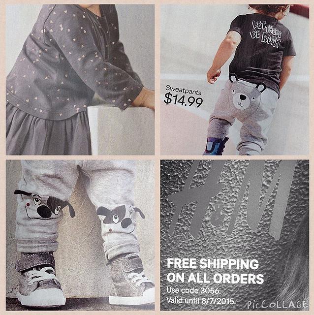 H&M_fall_fashion_2015_kids_baby_free_shipping